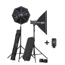 Elinchrom D-Lite RX 4 Softbox To Go Set