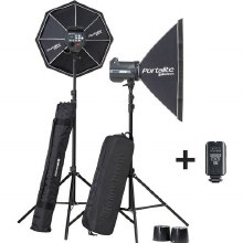Elinchrom BRX 500/500 Softbox To Go & Sekonic