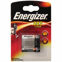 Energizer 223 3V CR-P2p Battery