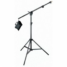 Manfrotto 420B Black Aluminium Combi-Boom Stand with Sandbag