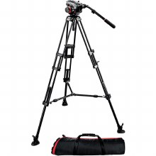 Manfrotto 546B with 504HD head