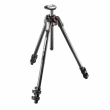 Manfrotto 190 Carbon Fibre 3-Section Tripod, With Horizontal Column