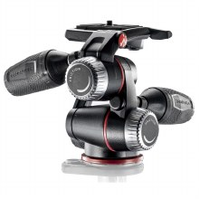 Manfrotto X-PRO 3-Way Head With Retractable Levers & Friction Controls