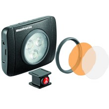 Manfrotto MLUMIEPL-BK Lumie Series Play LED Light & Accessories