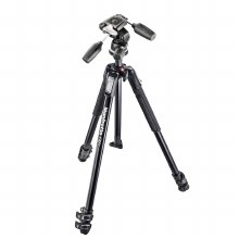 Manfrotto MK190X3-3W MK II Alu 3-Section Tripod and 804RC2 3 Way Head