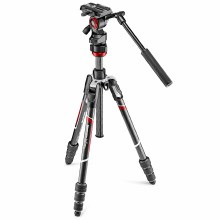 Manfrotto Befree Live Carbon Fibre Tripod Twist With Video Head
