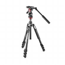 Manfrotto Befree Live Aluminium Tripod Kit With Lever-lock Legs & 2-Way Video Head (Black)