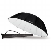 Westcott 7' White/Black Parabolic Umbrella