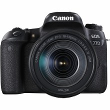 Canon EOS 77D with EF-S 18-135mm IS USM