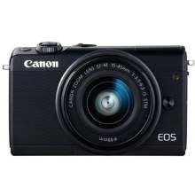 Canon EOS M100 Black with EF-M 15-45 IS STM