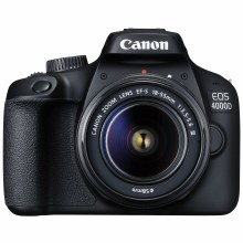 Canon EOS 4000D with EF-S 18-55mm DC III