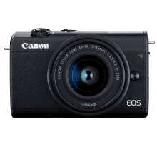 Canon EOS M200 Black Camera with 15-45mm IS STM Lens