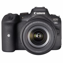 Canon EOS R6 Camera with RF 24-105mm IS STM Lens