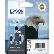 Epson T007 Black T007 Twin Packs Inks