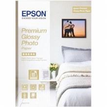 "Epson Premium Glossy Photo Paper 13X18cm (5X7"") 30 Sheets"