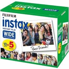 Fujifilm Instax Wide Colour Film (50 Sheets)