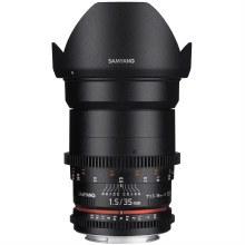 Samyang  35mm T1.5 VDSLR AS UMC Lens for Canon EF