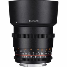Samyang  85mm T1.5 VDSLR AS IF Lens for Canon EF
