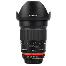 Samyang  35mm F1.4 ED AS For Canon EF