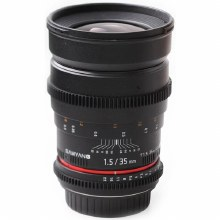 Samyang 35 mm T1.5 AS UMC VDSLR For Nikon F
