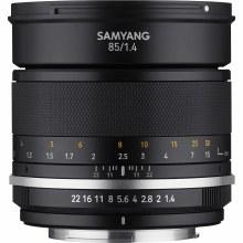 Samyang MF  85mm F1.4 MK2 For Canon EF