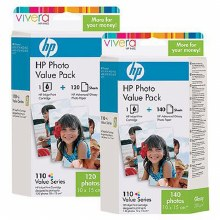 HP 110 Series Value Pack 140 Sheets