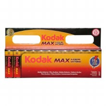 Kodak AA Max Alkaline Batteries Pack of 12