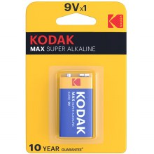 Kodak 9V MN1604 Battery