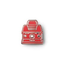 Polaroid Originals Red Camera Pin Badge