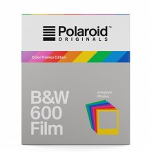Polaroid Originals Black&White Film for 600 with Color Frames