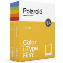 Polaroid i-Type Colour Film (Twin Pack - 16 Sheets)