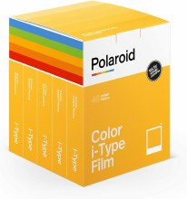 Polaroid Color i-Type Film x5 Pack Bundle