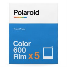 Polaroid 600 Colour Film (Five Pack)