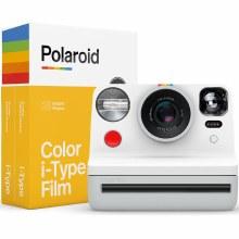 Polaroid Now White Everything Box - i-Type Instant Camera with Film