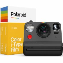 Polaroid Now Graphite Everything Box - i-Type Instant Camera with Film