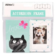 Fujifilm Instax Accordian Frame Cat Design