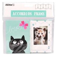 """Fujifilm Instax Mini """"Cat"""" Accordian Frame"""