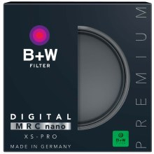 B+W 40.5mm ND 0.6 Neutral Density (2-Stop, 4x) XS-Pro MRC Nano (802)