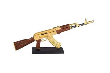 Goat Guns AK-47 in Gold (Dissasembled)