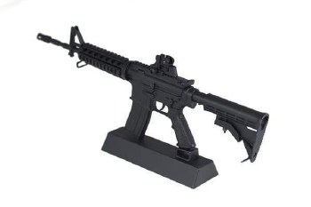 Goat Guns AR-15 in Black (Dissasembled)