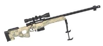 Goat Guns Sniper in ACU (Dissasembled)