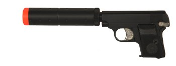 HFC Compact Gas Pistol in Black (HG-107)