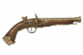 HFC Flintlock Pirate CO2 Pistol (Gold)