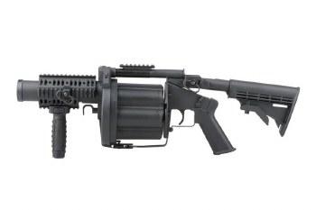 ICS MGL-195 Revolver Grenade Launcher