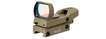 Lancer 4 Reticle Reflex Sight in Tan