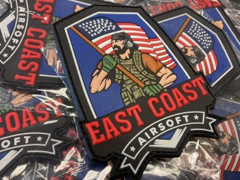 New East Coast Airsoft Logo Patch