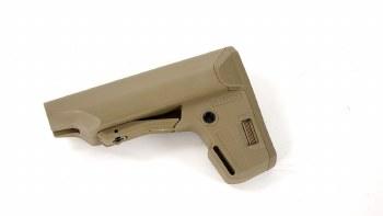 PTS Enhanced Polymer Stock Compact - TAN