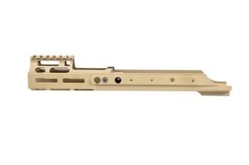 PTS Kinetic SCAR MREX M-LOK Rail - Tan