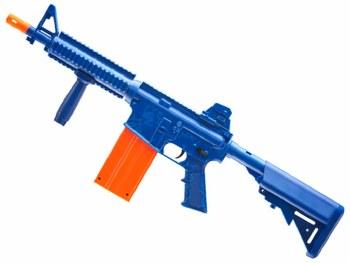 REKT OPFour Co2 Foam Dart Rifle in Blue