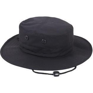 Rothco Adjustable Boonie Hat - Black